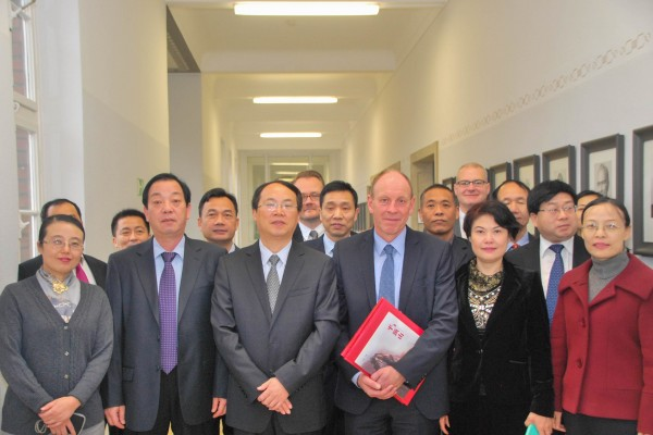 Delegation aus Pingdingshan